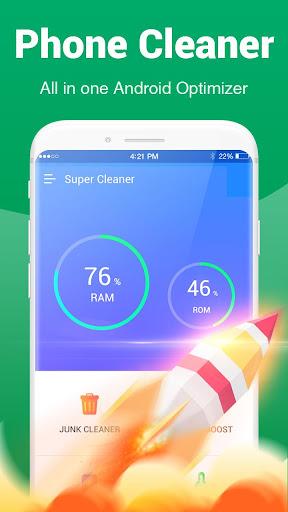 Super Cleaner - Deep Phone Cleaner & RAM Booster 1.0.3 screenshots 1