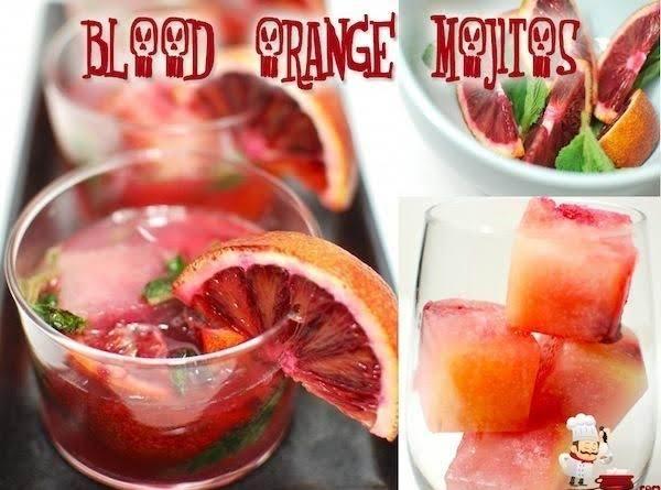Blood Orange Mojito