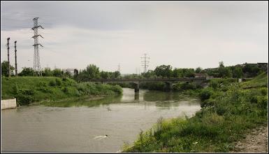 Photo: Turda - Str. Funicularului - Podul Industrial peste Raul Aries, vedere din zona Piata Romana - 2018.05.10