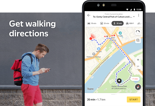 Yandex.Maps and Transport - screenshot