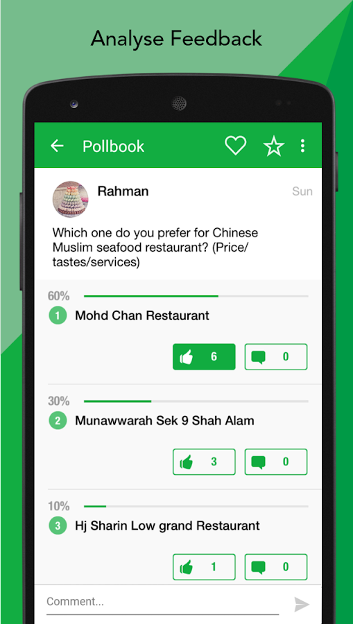 Pollbook- screenshot