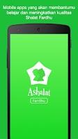 Screenshot of Ashalat : Shalat Fardhu
