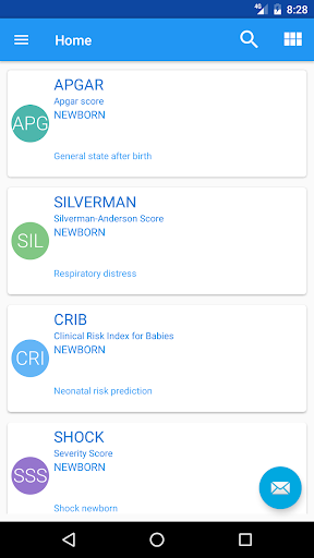 Pediatric Scores Plus screenshot for Android