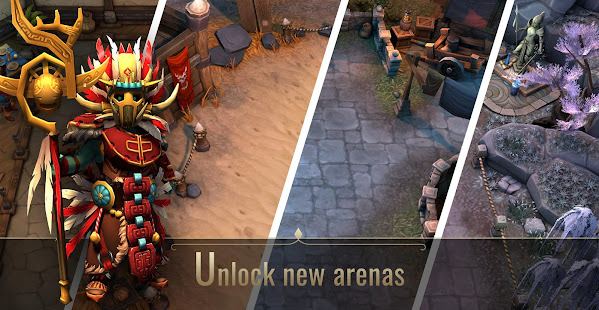 Mod Game Board Heroes League for Android