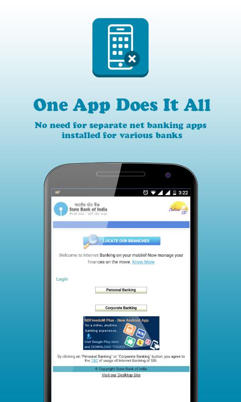 how to connect internet banking in corporation bank
