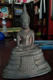 พระบูชาหลวงพ่อโสธร ปี2497 3 นิ้ว สนิมยาแดงเก่าสวย