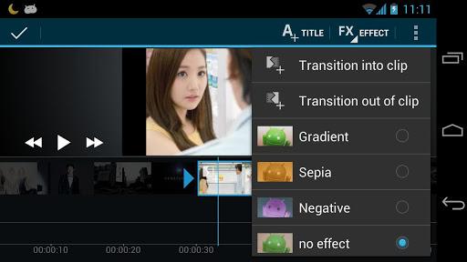 صانع الفيلم محرر الفيديو screenshot 5