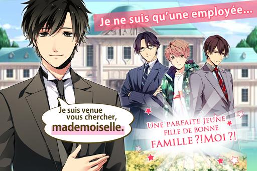 Code Triche Diamond Girl: jeux d'amour Otome otaku games APK MOD screenshots 5