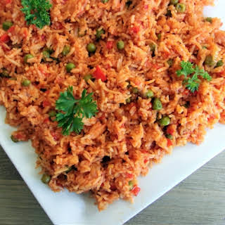 Jollof Inspired Rice.