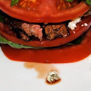 Mother Rimmy's Take On Flank Steak Caprese Salad
