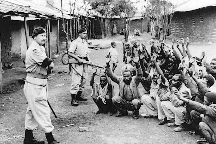 british colonizers holding Africans hostage