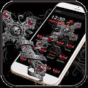 Love Theme Skull Cross icon