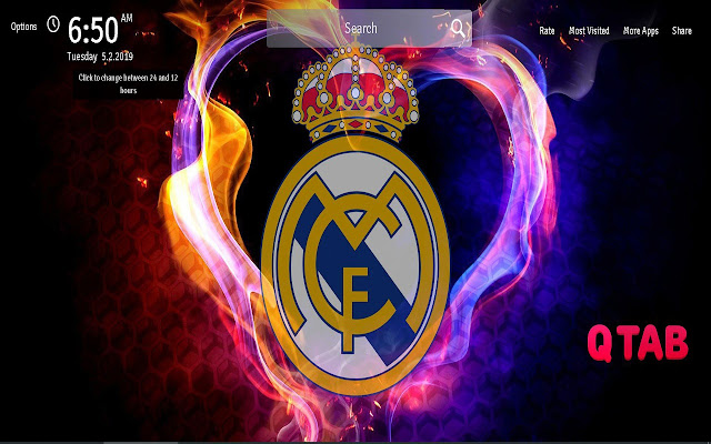 Real Madrid Wallpapers New Tab