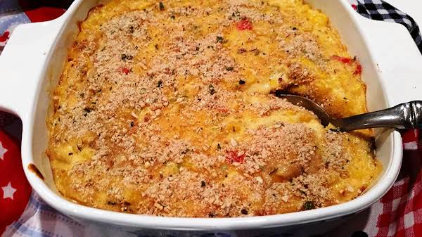 ~ Grams Cheesy Corn Custard ~ Recipe