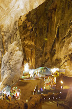 Photo: a l'intérieur des Batu Caves (Batu Man n'était pas là)