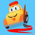 Car City Coloring Book - Kids draw, paint & doodle icon