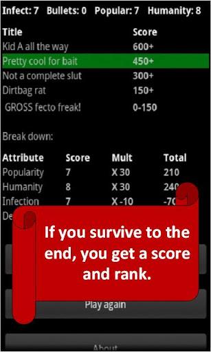 Zombie High: Choices Game RPG  screenshots 5