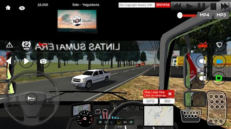 IDBS Indonesia Truck Simulator APK screenshot thumbnail 4