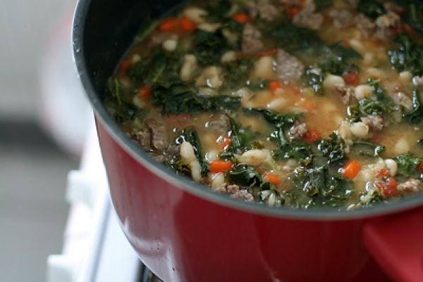 Bean Stew With Sausage And Cabbage Recipe