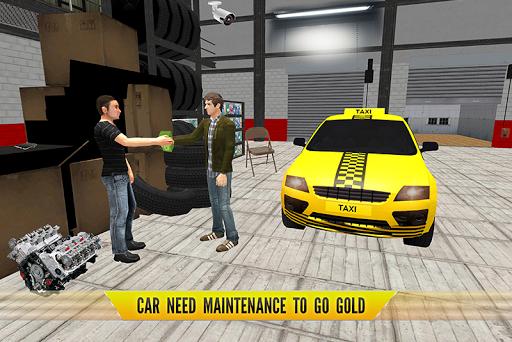 Conduite de taxi Sim : Nouveau chauffeur de taxi  captures d'u00e9cran 2