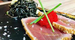 Tataki de atún en Cosa Fina.