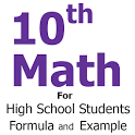 10th Class Math Formula icon