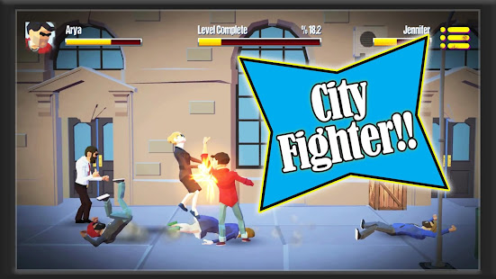 City Fighter vs Street Gang 1