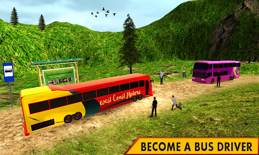 Modern Bus Driver Game Simulator- screenshot thumbnail