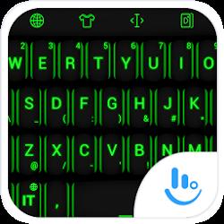 Keyboard Theme Neon Green