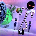 Stick Escape: Bank Robbery Icon