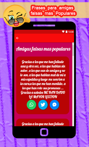 Frases Para Amigas Falsas E Hipocritas Apps En Google Play