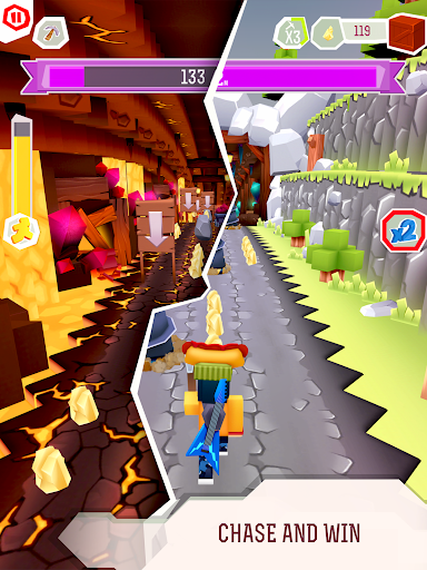 Chaseu0441raft - EPIC Running Game apkpoly screenshots 18