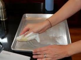 Heat oven to 350°F. Grease and flour a 15x10x1-inch jelly roll pan.