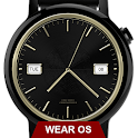 Watch Face Executive Gold Shade Wear OS Smartwatch icon