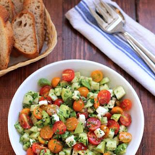 #13. Tomato, Cucumber, Avocado Salad