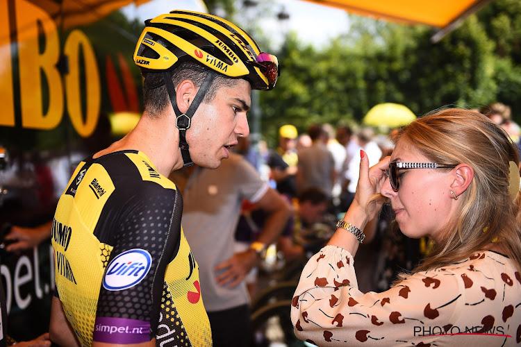 """Sarah De Bie keert naar huis na paar dagen Tour: """"Wout maakt zich niet gauw 'dik', maar deze keer had hij toch gelijk"""""""