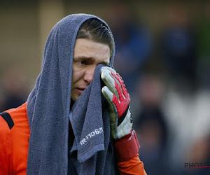 📷 Les larmes d'Ethan Horvath après la victoire contre La Gantoise