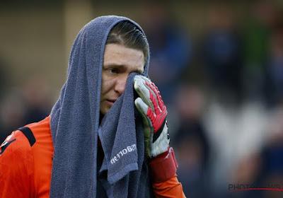 Les larmes d'Ethan Horvath après la victoire de Bruges contre La Gantoise