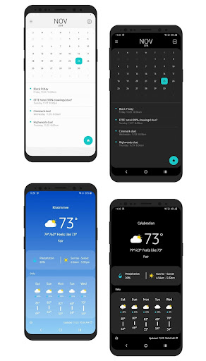 Screenshot for OneUI-Home for KLWP in United States Play Store