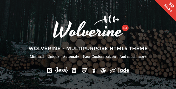 Image result for Wolverine html web template