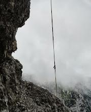 Photo: Zapuščeni štrik nesrečnih plezalcev
