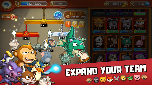 Critter Clash: Monkey Slingshot Battle Game image | 5