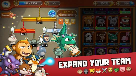 Critter Clash MOD (Unlimited Diamonds) 4