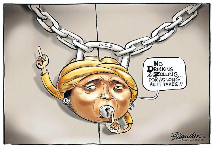 CARTOON | Dlamini-Zuma remains resolute on cigarette, alcohol ban