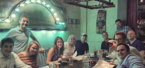 Photo: Team Dinner
