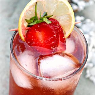 Strawberry Lemon Fizz.