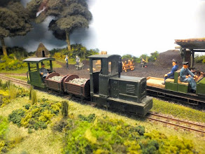 "Photo: 017 The article on Watt Estate published in Railway Modeller October 2014 mentioned that there were ""about a dozen"" locomotives on the railway. I think I managed to track down 11 of them in this report, but I am sure that I have covered them all by now if my previous sightings of the layout in earlier reports are consulted ."