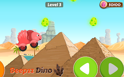 Racing game for Kids - Beepzz Dinosaur APK screenshot thumbnail 2