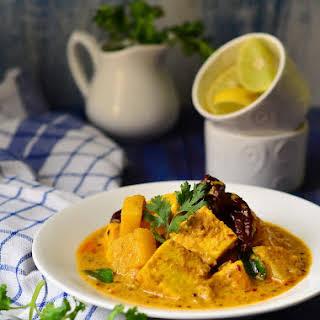Pineapple Paneer Curry.