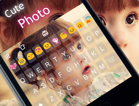 Cute Photo Emoji Keyboard Free 3.0.1 screenshot 315749